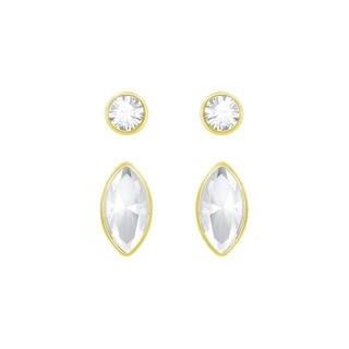 Gold-plated Crystal Women's Harley Earrings(Setof2)