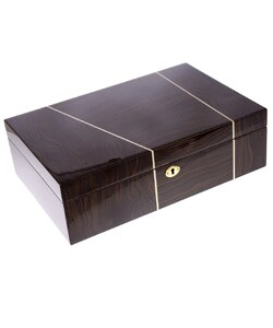 Rocketbox Wood 16-watch Collection Watch Box - Thumbnail 1