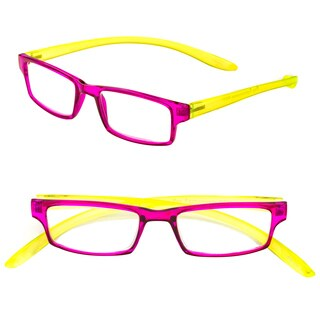 Pop Fashionwear R211 Plastic Rectangle Long Arm Readers (More options available)