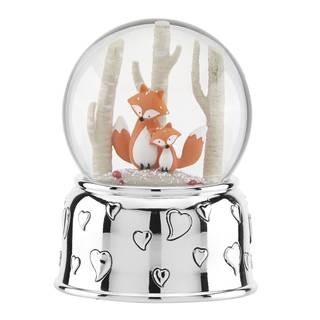 Reed & Barton Hazelnut Hollow Fox Musical Waterglobe