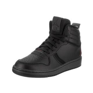 Nike Boys' Jordan Heritage Bg Black Leather Basketball Shoe