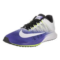 Nike Men's Air Zoom Elite 9 Blue Synthetic Leather Running Shoe