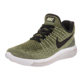 Nike Women's Lunarepic Low Flyknit 2 Green Crosstraining Running Shoe