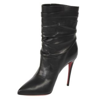 Christian Louboutin Ishtar Leather Stiletto Bootie