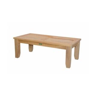 Anderson Teak Home Indoor Luxe Rectangle Coffee Table