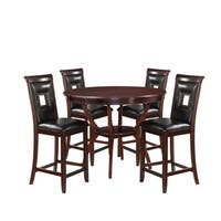 Acme Furniture Oswell 5-piece Counter Height Dining Set