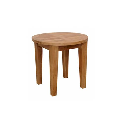 Anderson Teak Brianna 20-inch Round Side Table