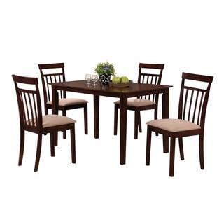 Acme Furniture Samuel 5-Piece Pack Dining Set, Espresso