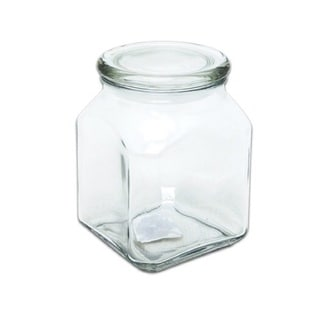 Glass 52-ounce Emma Jar with Cover