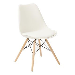 Carson Carrington Silkeborg Guest Chair (Option: White)