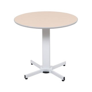 Offex Pneumatic Adjustable Round Pedestal Table