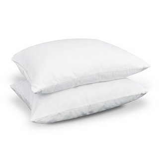 NDP Bedding Super Plush Pillow Dust Mite Resistant Down Alternative Standard Size Pillow (Set of 2)