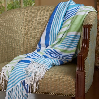Berkshire Blanket Striped Woven Throw