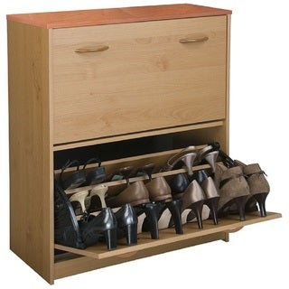Venture Horizon Home Office Double Shoe Chest