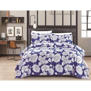 Exotica Deep Blue Comforter Set