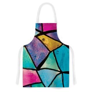 Kess InHouse Theresa Giolzetti Stain Glass 2 Artistic Apron