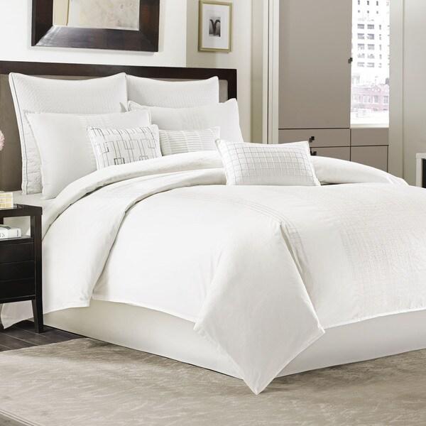 Manor Hill Ellis Ivory 4-piece Comforter Set