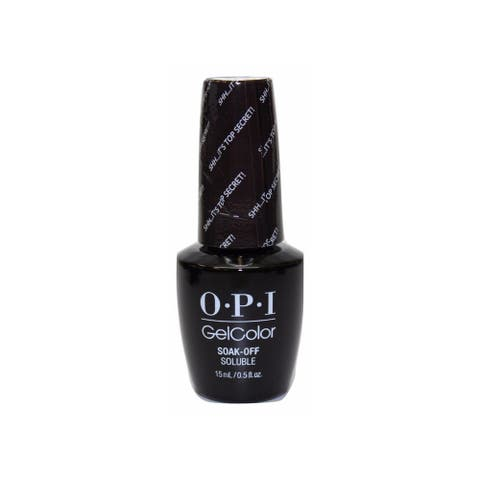 OPI GelColor Shh...It's top Secret