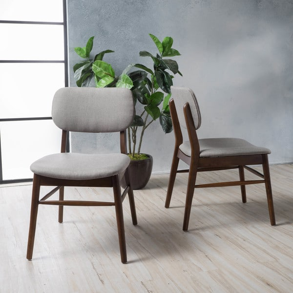 Colette Mid Century Dining Chair Set of 2 by Christopher Knight