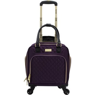 Kensie 16-inch Multi-Function Rolling Spinner Under-Seater Suitcase