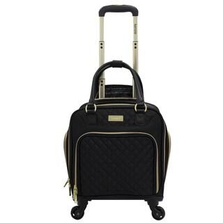 Kensie 16-inch Multi-Function Rolling Spinner Under-Seater Suitcase