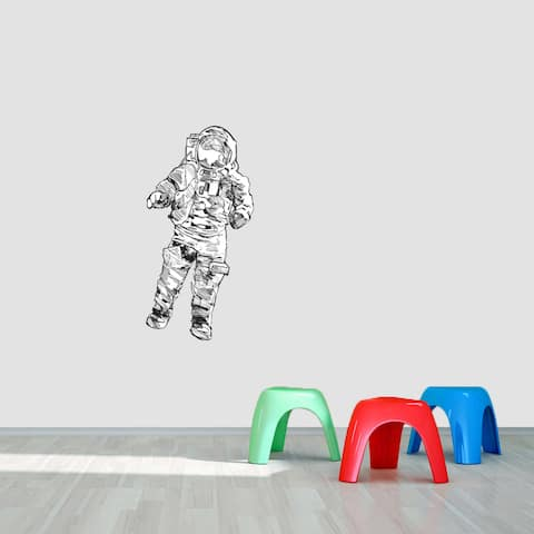 Printed Astronaut Wall Decal