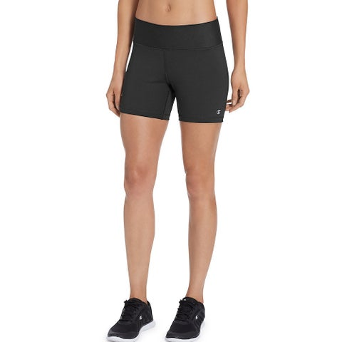 Champion Women's Absolute Black Shorts
