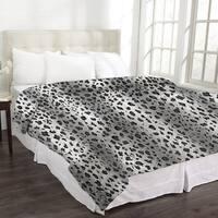 Animal Print Micromink Blanket