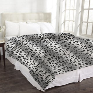 Animal Print Micromink Blanket