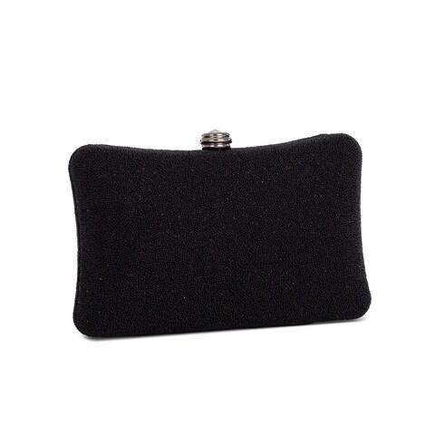 J. Furmani Enchanted Hard-case Clutch Handbag