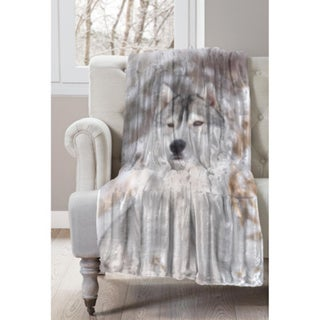 Husky Wildlife Micromink Throw