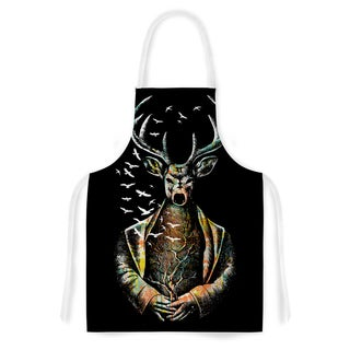 Kess InHouse BarmalisiRTB There Is No Place Multicolor Deer Artistic Apron