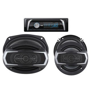 DS18 Bluetooth Single Din Detachable Car Radio with CD/USB/Bluetooth/AM/FM/AUX Player and Coaxial Speaker Audio Stereo Package|https://ak1.ostkcdn.com/images/products/14483620/P21042836.jpg?impolicy=medium
