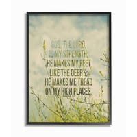 EtchLife 'Tread On My High Places Meadow' Framed Giclee Art
