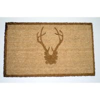 Bronze Coir and Polypropylene Antler Doormat