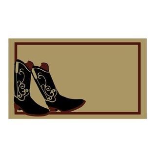 Cowboy Boots Doormat