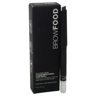 LashFood BrowFood Eco Precision 2-Tone Brow Pencil Lead Refill Dark Brunette