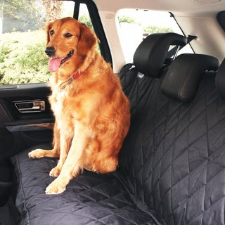 Cymas Pet Car Seat Cover, Dog Hammock, Waterproof Pet Car Seat Cover Protector with Non Slip Silicone Backing for Cars