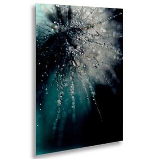 Beata Czyzowska Young 'Morning Sonata' Floating Brushed Aluminum Art