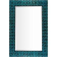 Arnadi Wall Mirror (29.5 x 43.3) - Blue