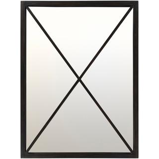 """Klammath Wall Mirror (30 x 40) - Black - 30"""" x 40"""""""