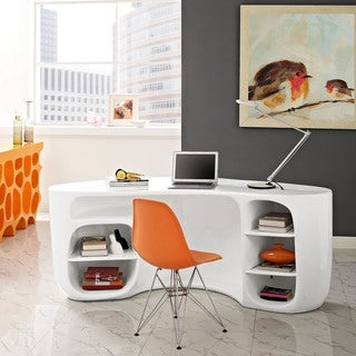 Impression Reception Desk (Option: Orange)
