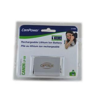 Optex LI126 1120mAh Li-Ion Canon LP-E8 Battery