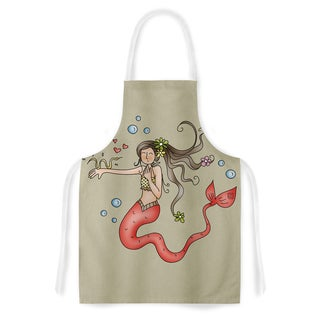 Kess InHouse Carina Povarchik 'Mermaids Lovely' Artistic Apron