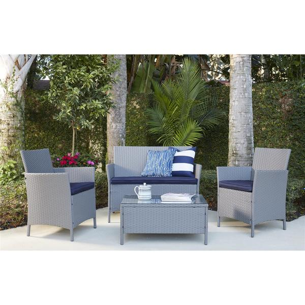Product on Deep Water Loveseat Dining Set