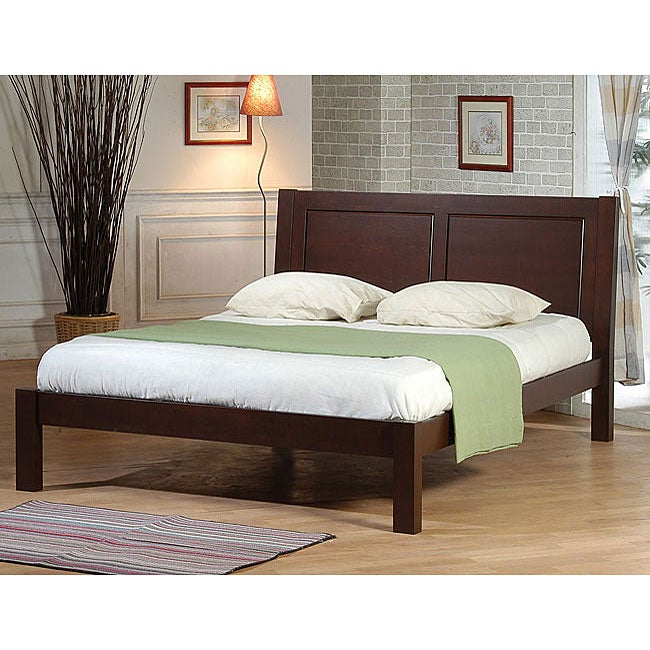 tribeca queen size bed free shipping today 1123148. Black Bedroom Furniture Sets. Home Design Ideas