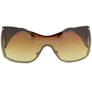 Dasein Kaidi Women's Two-tone Rimless Sunglasses