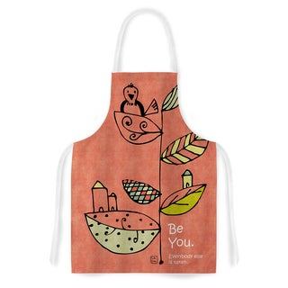 Carina Povarchik 'Be You' Coral Kids Artistic Apron