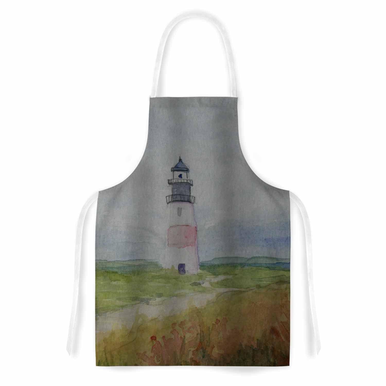 Kess InHouse Cyndi Steen 'Sankaty Lighthouse' Blue Green ...