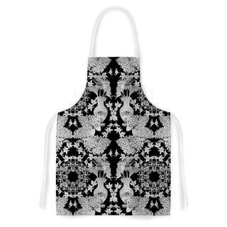 Kess InHouse DLKG Design 'Versailles Black' Artistic Apron